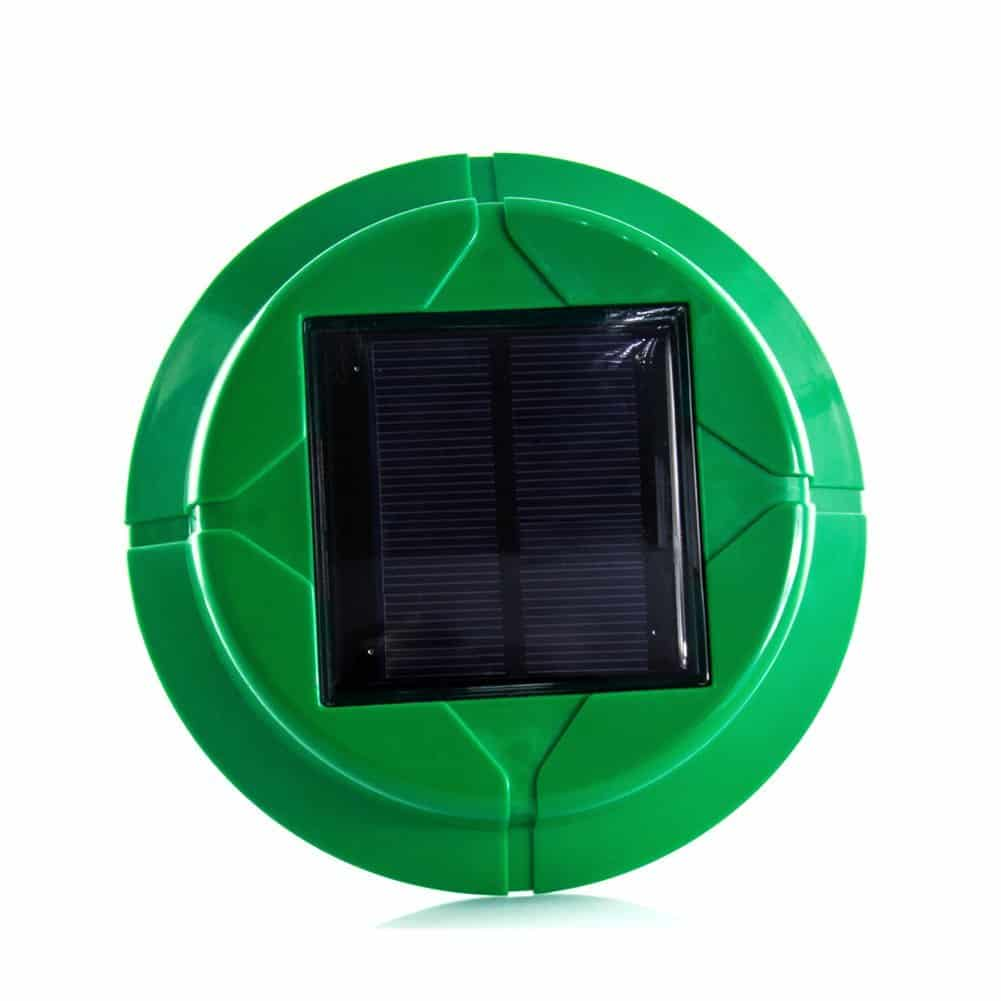 2 x VENSMILE Solar Snake Repellent Mole Repeller Outdoor Rodent Gopher Vole Chaser For Garden Law And Waterproof