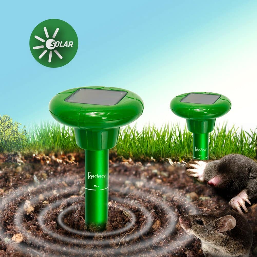 sonic mole trap gopher rodent chaser