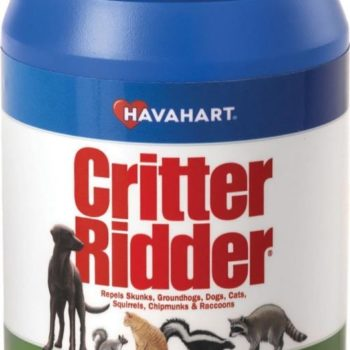 HAVAHART CRITTER RIDDER GRANULAR ANIMAL REPELLENT - 75 SQUARE FEET