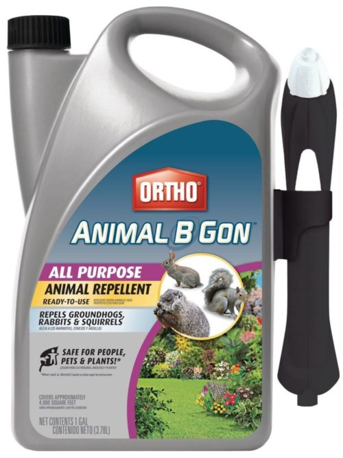 Ortho Animal B Gon All Purpose Animal Repellent Ready-To-Use Spray (Case of 4), 1 Gallon