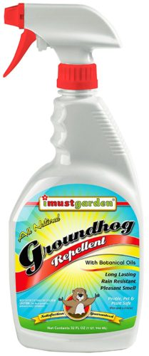 I Must Garden Groundhog Repellent - 32oz Ready-to-Use Spray (Woodchucks)