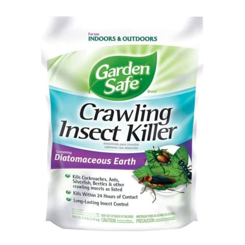 Garden Safe HG-93186-1 Crawling Insect Killer Containing Diatomaceous Earth, 4-Pounds, 6-Pack