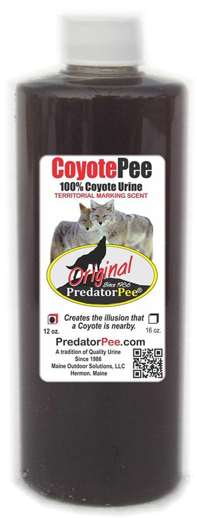 Predator Pee – 100% Pure Coyote Urine – 12oz Squeeze Bottle