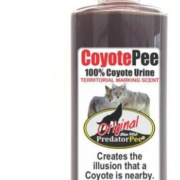 Predator Pee – 100% Pure Coyote Urine – 16oz Trigger Spray Bottle