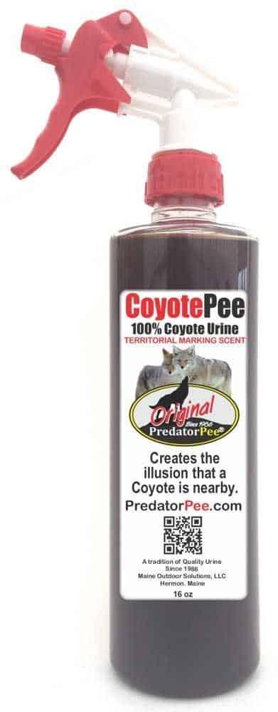 Predator Pee – 100% Pure Coyote Urine – 16oz Trigger Spray Bottle