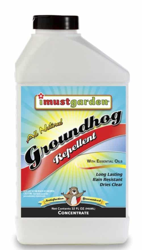 I Must Garden Groundhog Repellent - 32oz Concentrate (Woodchucks)
