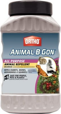 Ortho 0489930 2 lb Animal B Gon Rabbit Squirrel Granular Repellent - Quantity 8