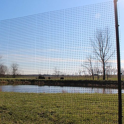 Easy Garden Fence EF1001 Deer Fence 50 ft Kit - 7 ft H