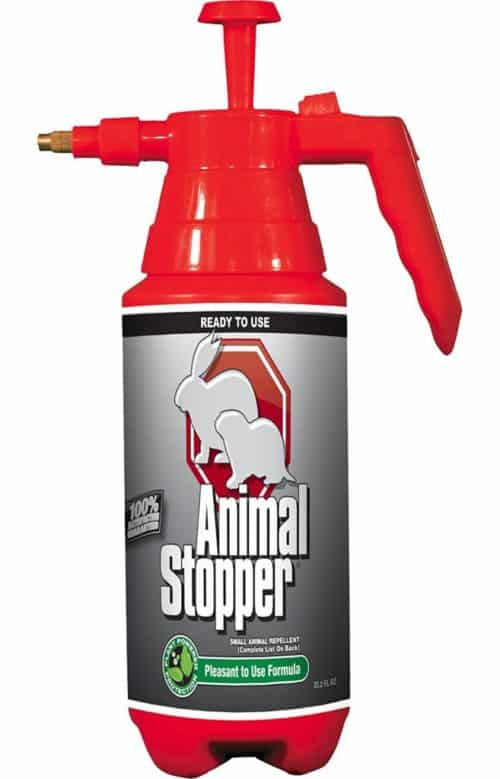 Messina Wildlife Animal Stopper Pump Bottle, 35.2 oz, Red