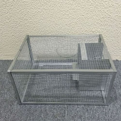 Seicosy Live Mouse Trap - 128.86 Inches Cage, Iron Cage For Mouse, Rat, Hamster,Mole, Weasel,Gopher and More Small Rodents