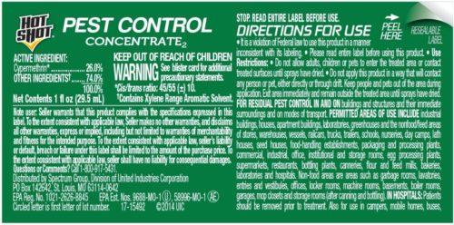 Hot Shot Pest Control Concentrate2 (HG-96376) (1 fl oz)
