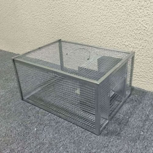 Seicosy Live Mouse Trap - Big Rodent Trap, Iron Cage For Mouse, Rat, Hamster,Mole, Weasel,Gopher and More Small Rodents