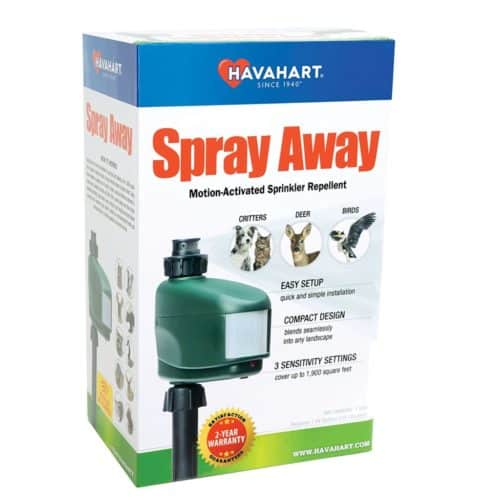 Havahart 5270 Spray Away Motion Activated Sprinkler Animal Repellent