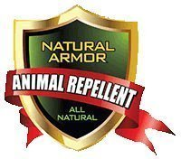 Repellent Spray for Rodents & Animals. Cats, Rats, Squirrels, Mouse & Deer. Repeller & Deterrent for Dogs, Critters, Mice, Raccoon & Skunk. Natural Armor Mint Gallon Concentrate