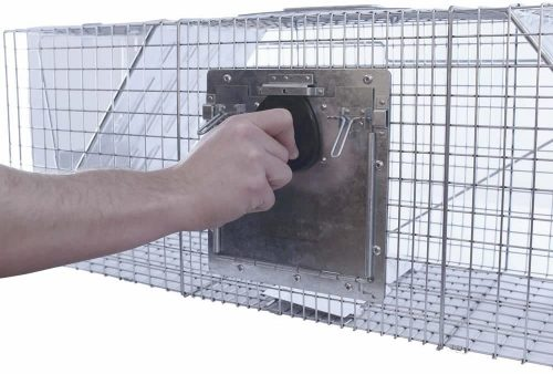 Havahart 998 Large 2-Door Safe Release Humane Live Animal Cage Trap for Raccoons, Opossums, Groundhogs 4