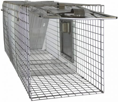 Havahart 998 Large 2-Door Safe Release Humane Live Animal Cage Trap for Raccoons, Opossums, Groundhogs 7